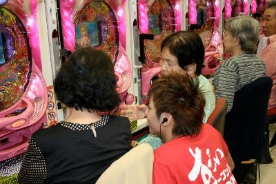 栃木県宇都宮市ビックマーチ簗瀬店でのパチンコ大会